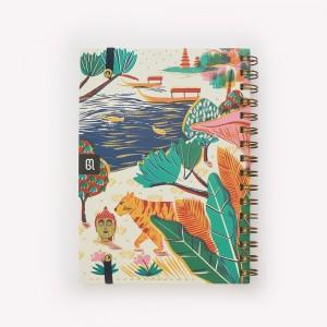Cuaderno de Viaje Anillado Mediano Sudeste Asiático