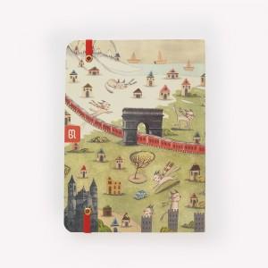 Europe Sewn Medium Notebook