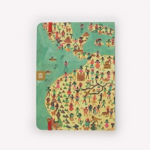 Latin America Sewn Medium Travel Journal