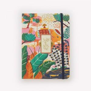 Cuaderno de Viaje Cosido Mediano Sudeste Asiático