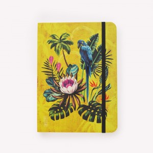 Cuaderno Cosido Mediano Tropical