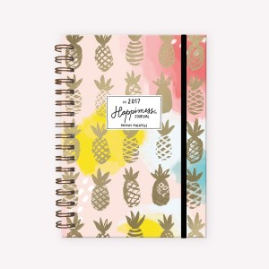 2017 Journal Happimess Pineapple