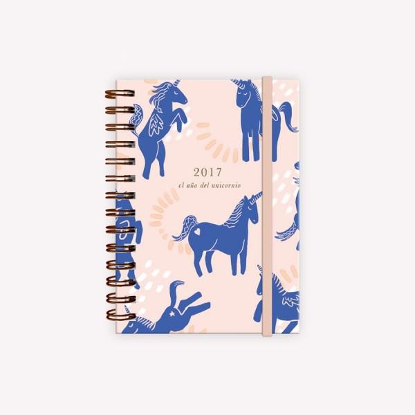 Agenda 2017 El año del unicornio – Pocket Happimess
