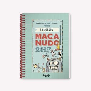 2017 journal Macanudo Characters