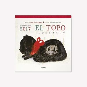 Calendario de Pared 2017 Topo Ilustrado