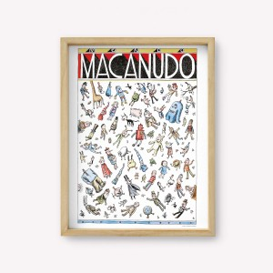 Mundo Macanudo Wall Art