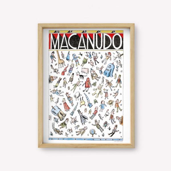 Wall Art Mundo Macanudo