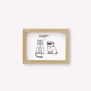 Internet Couple Wall Art