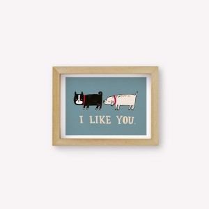 I like you Wall Art