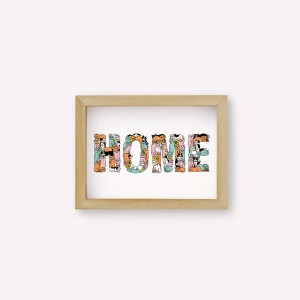 Home Cats Wallart