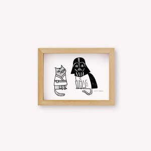 Wall Art Darth Vader