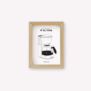 Máquina de Filtro Coffee Maker Wall Art