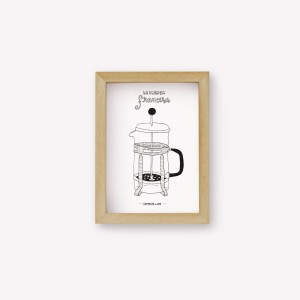 Presa Francesa Coffee Maker Wall Art