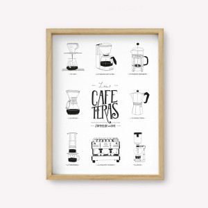 Coffee Makers Wall Art