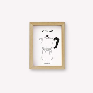 Napolitana Coffee Maker Wall Art