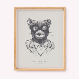 Fantastic Mr Fox Silk-screen