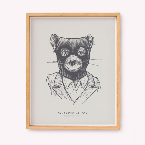 Fantastic Mr Fox Wall Art
