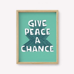 Wall Art Give Peace a Chance