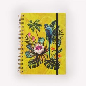 Tropical Ringed Medium Notebook
