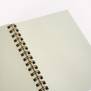Cuaderno Anillado Mediano Noche Estrellada