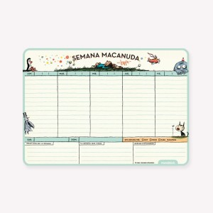Macanudo Weekly Planner