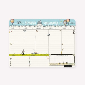 Planner Semanal Macanudo 2