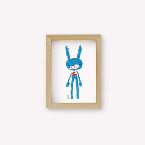 Pablo the rabbit Wall Art
