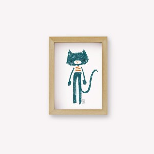 Wall Art Gato Mei