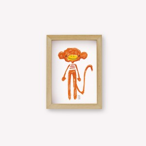 Jacques the Monkey Wall Art