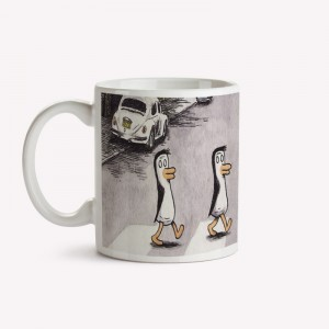 Beatle Penguins Mug
