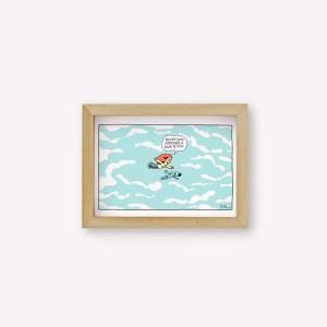 Flying As A Kid Wall Art
