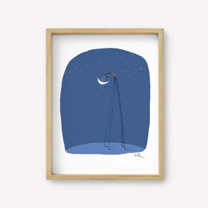 Wall Art Regar La Luna