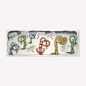 Duendes Pretzel Magnetic Comic