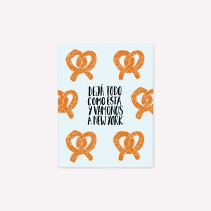New York Pretzels Magnetic Vignette