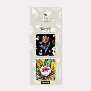 Botany Magnetic Bookmarkers