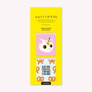 Happimess Pretzels Magnetic Bookmarkers