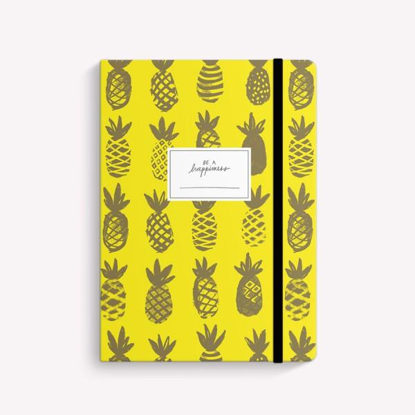 Cuaderno Cosido Mediano Happimess Ananá