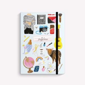Happimess Drawings Sewn Medium Notebook