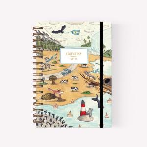 Cuaderno Anillado Mediano Argentina