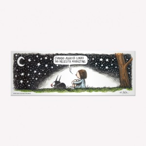 Starry Night Magnetic Comic
