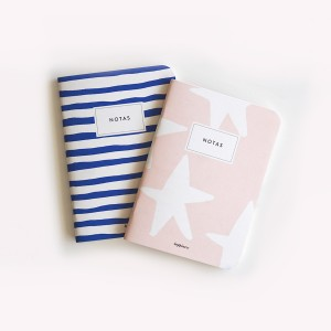 By the Sea Pocket Notebook Set x2