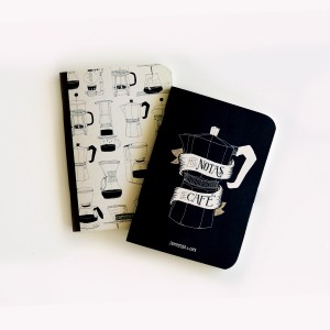 Libretas Mis Notas de Café x2