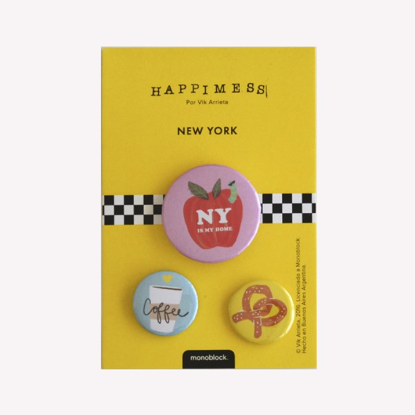 Pins New York