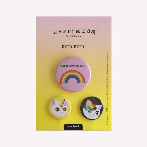 Pins Kitty Kitty