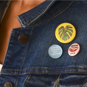 Más Verano Badges