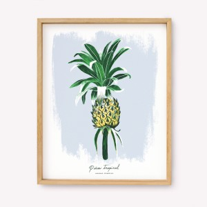 Tropical Pineapple Silk-screen