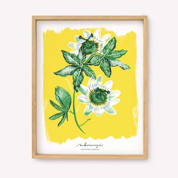 Serigrafía Passiflora