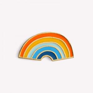Rainbow Vintage Badge