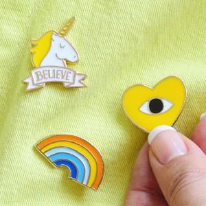 Unicorn Vintage Badge