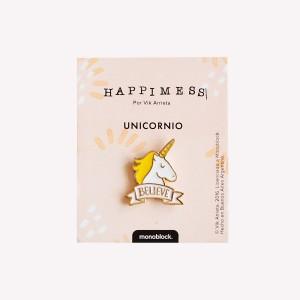 Happimess Unicornio Pin